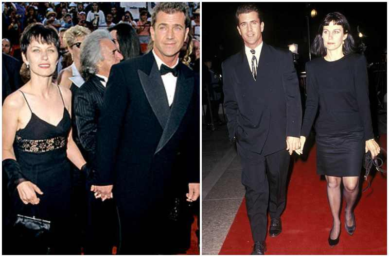 Mel Gibson's family - ex-wife Robyn Moore