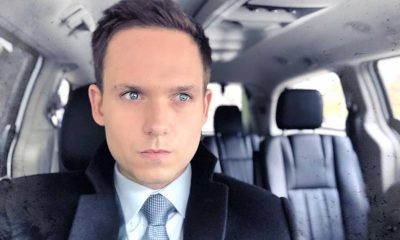 Patrick J. Adams' family: parents, siblings, wife and kids