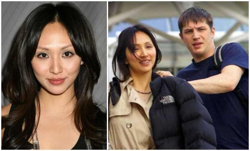 Tom Hardy's family - ex-girlfriend Linda Park
