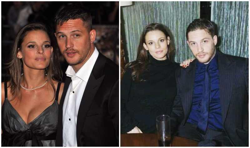 Tom Hardy's family - ex-girlfriend Rachael Thomson (nee Speed)