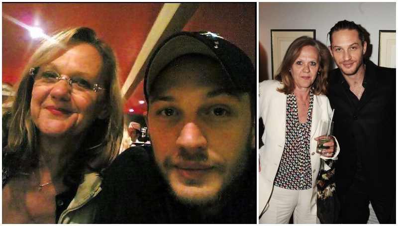 Tom Hardy's family - mother Elizabeth Anne Hardy