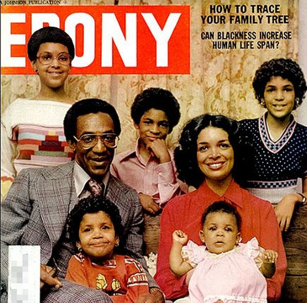 Famous People Who Have 5 Children - Bill Cosby
