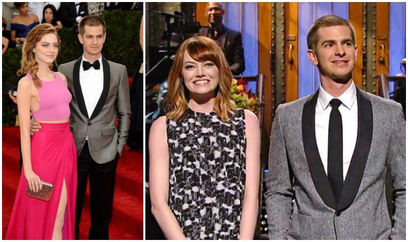 Andrew Garfield's ex-girlfriend Emma Stone