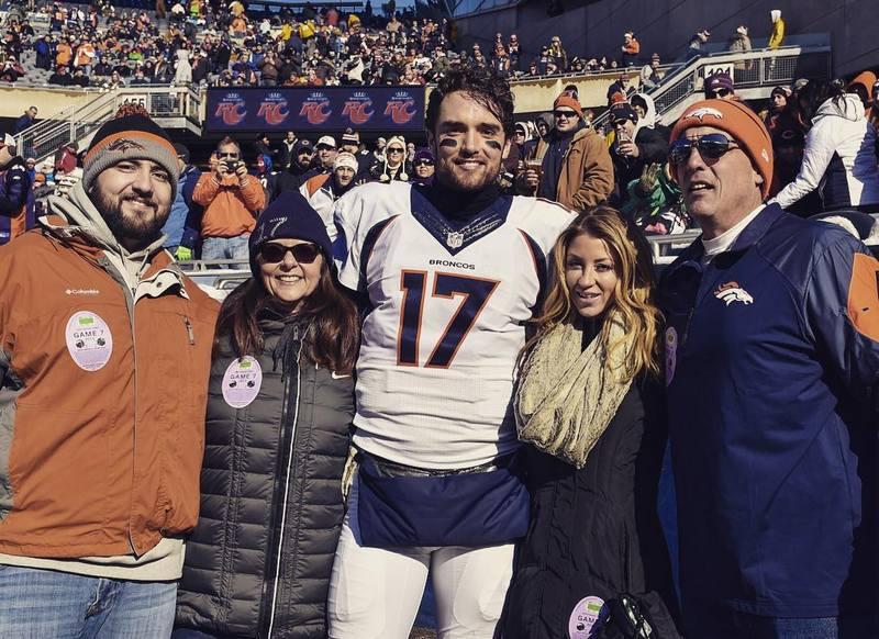 Brock Osweiler's family