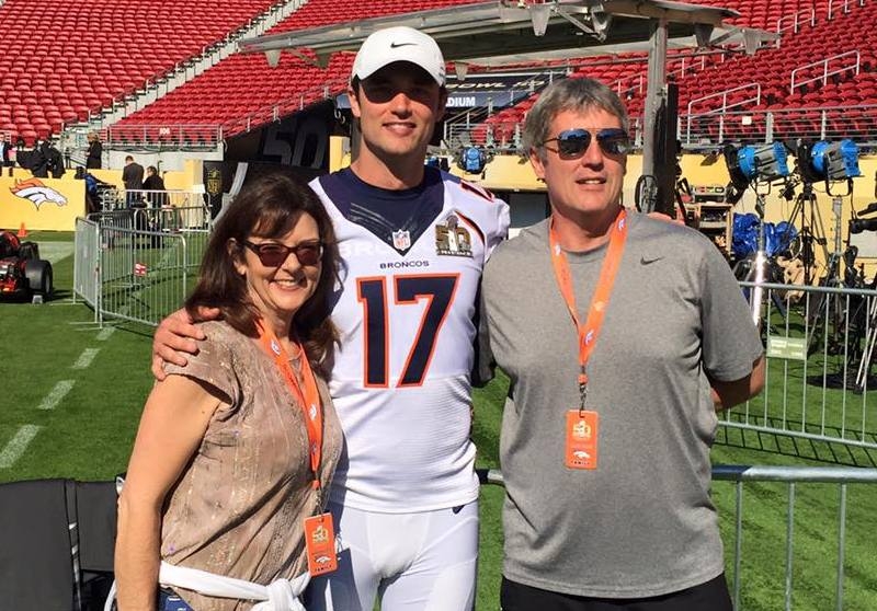 Brock Osweiler's family - father John Osweiler
