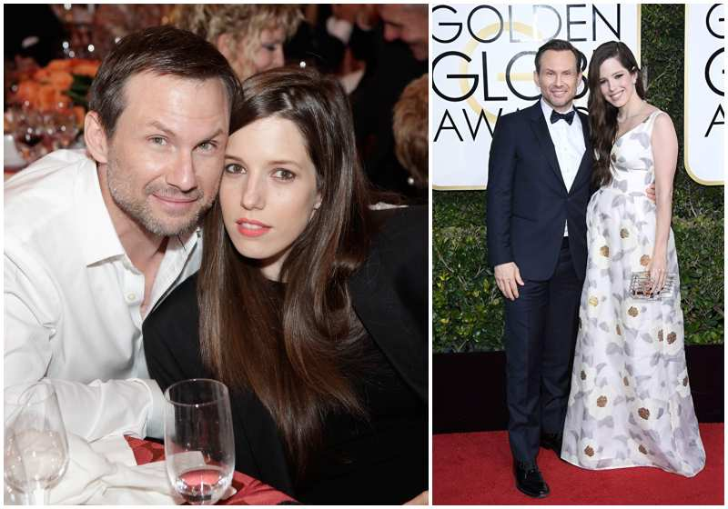 Christian Slater's family - wife Brittany Lopez