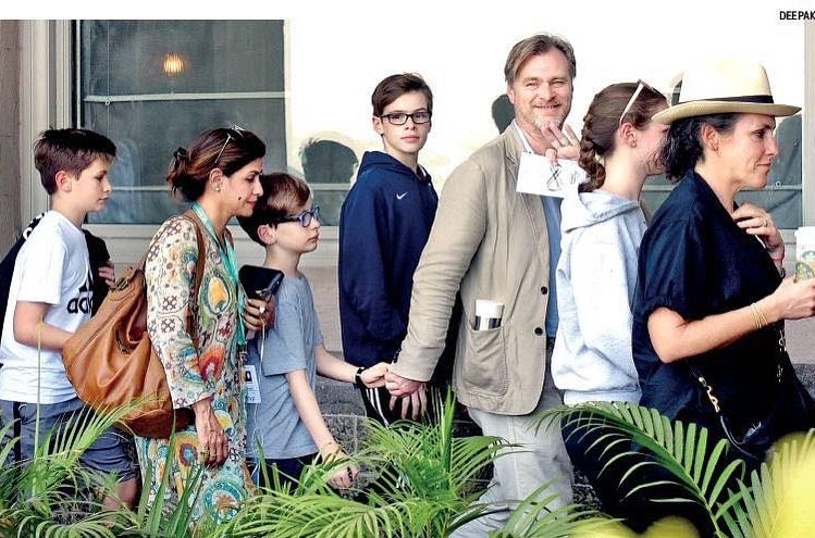 Christopher Nolan's children - 1 daughter and 3 sons