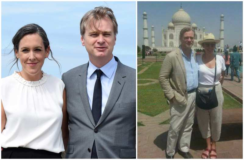 Christopher Nolan's family - wife Emma Thomas