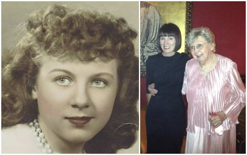 Dita Von Teese's family - grandmother Shirley Groat