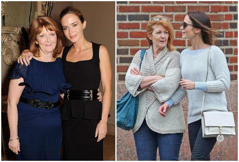 Emily Blunt's family - mother Joanna Blunt
