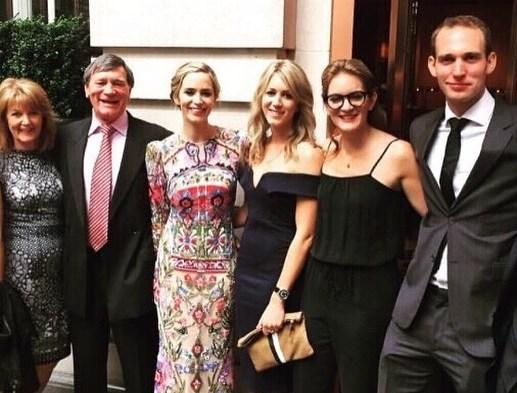 Emily Blunt's family