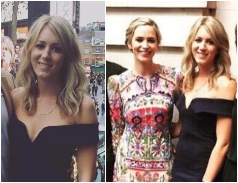 """Emily Blunt's siblings - sister Susannah """"Suzie""""Blunt"""