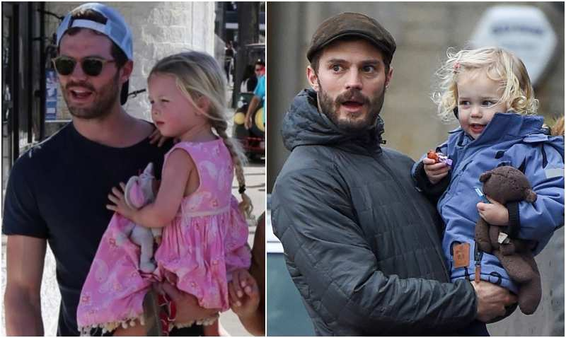 Jamie Dornan's children - daughter Dulcie Dornan