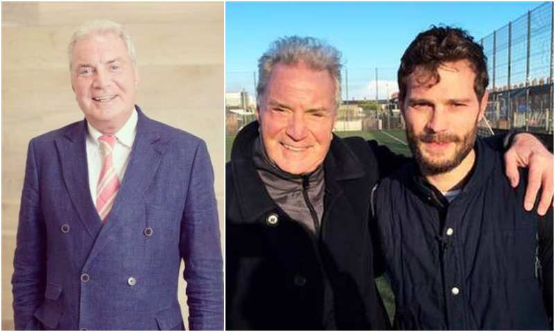 Jamie Dornan's family - father Jim Dornan
