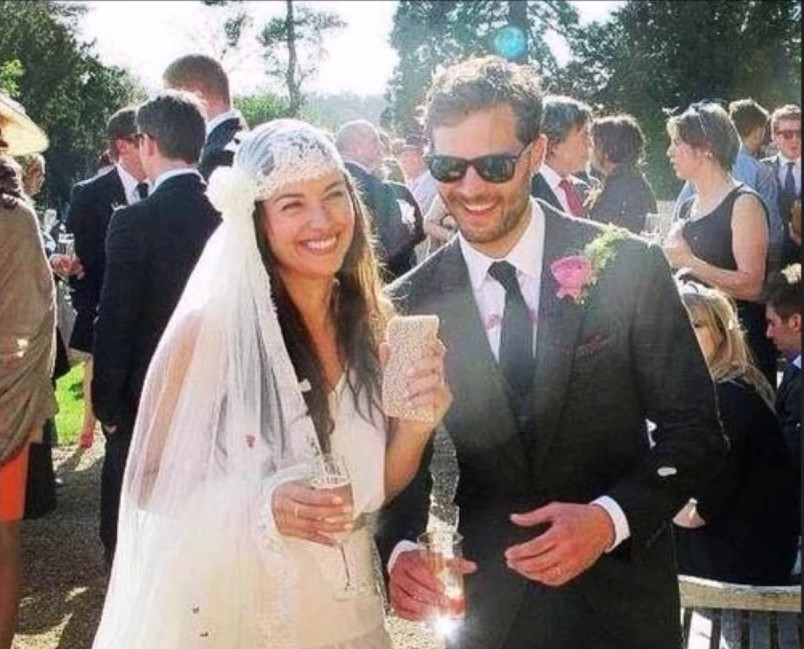 Jamie Dornan's family - wife Amelia Warner