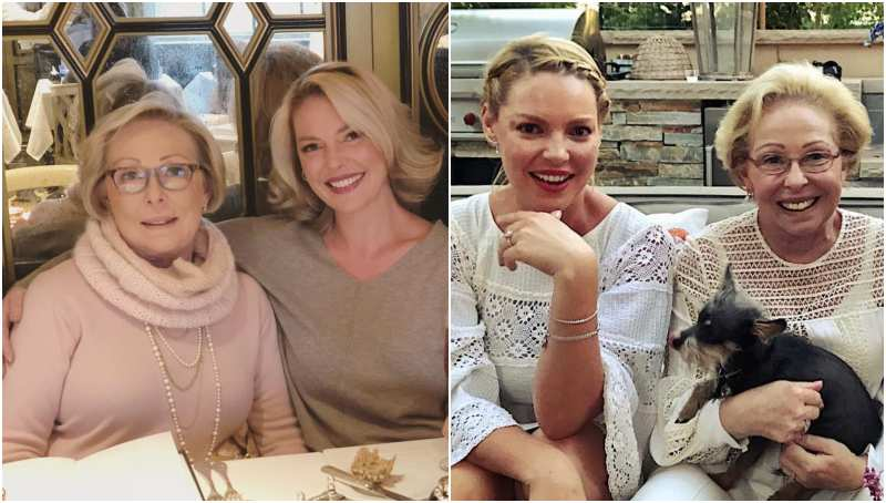 Katherine Heigl's family - mother Nancy Heigl