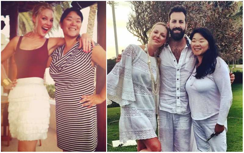 Katherine Heigl's siblings - sister Meg Heigl-Beltran