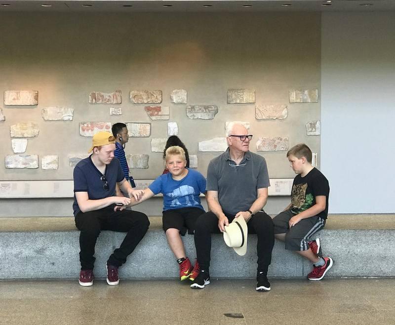 Malcolm McDowell's children - 3 sons