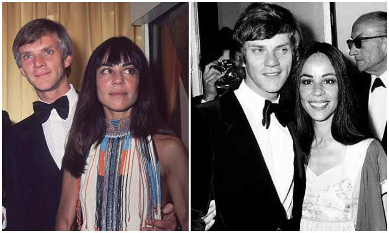 Malcolm McDowell's family - ex-wife Margot Bennett