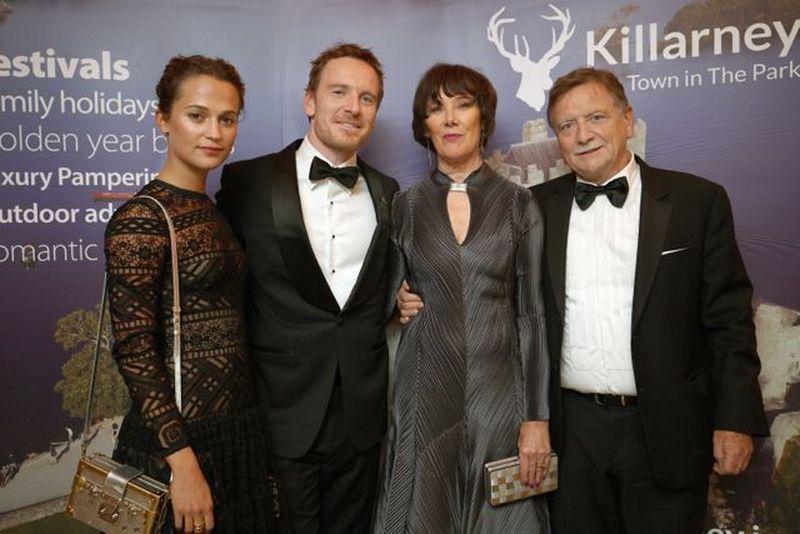 Michael Fassbender's family
