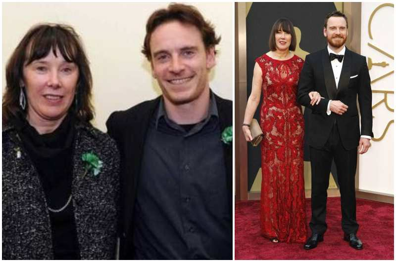 Michael Fassbender's family - mother Adele Fassender