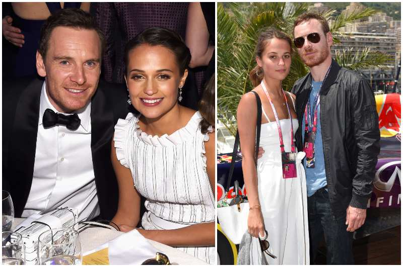 Michael Fassbender's family - wife Alicia Vikander