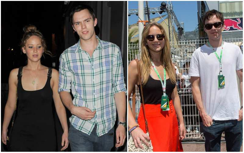 Nicholas Hoult's ex-partner Jennifer Lawrence