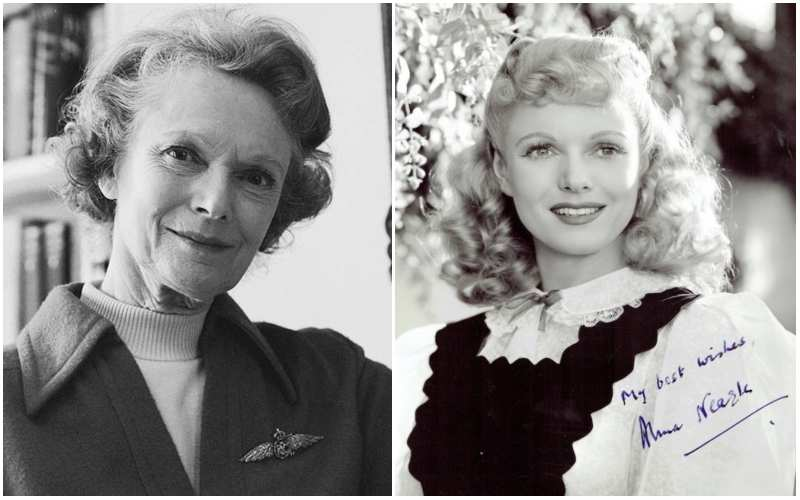 Nicholas Hoult's family - paternal great-aunt Anna Neagle