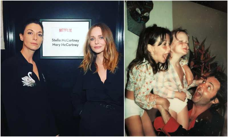 Paul McCartney's children - 2 daughters Mary and Stella McCartney