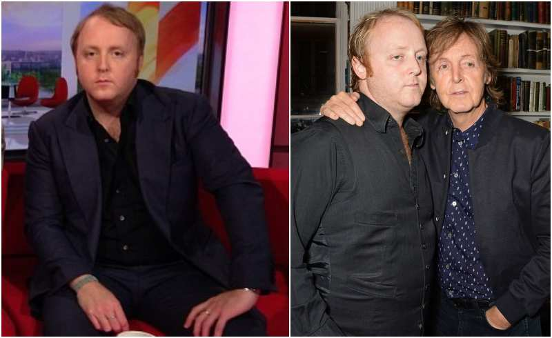Paul McCartney's children - son James Louis McCartney
