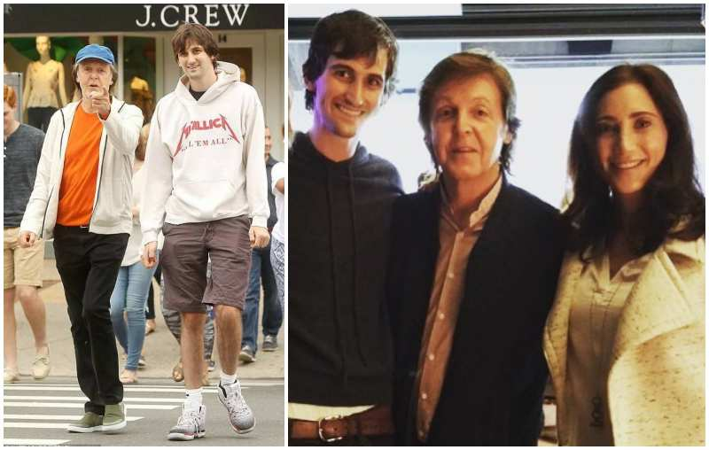 Paul McCartney's children - step-son Arlen Blakeman