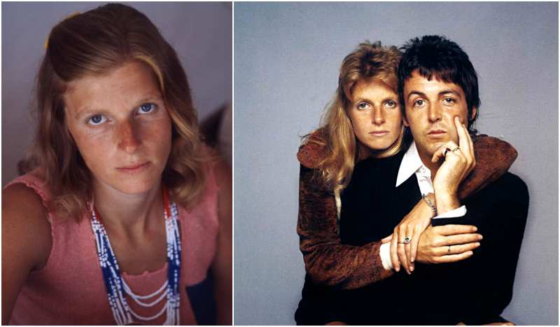 Paul McCartney's family - wife Linda Louise McCartney