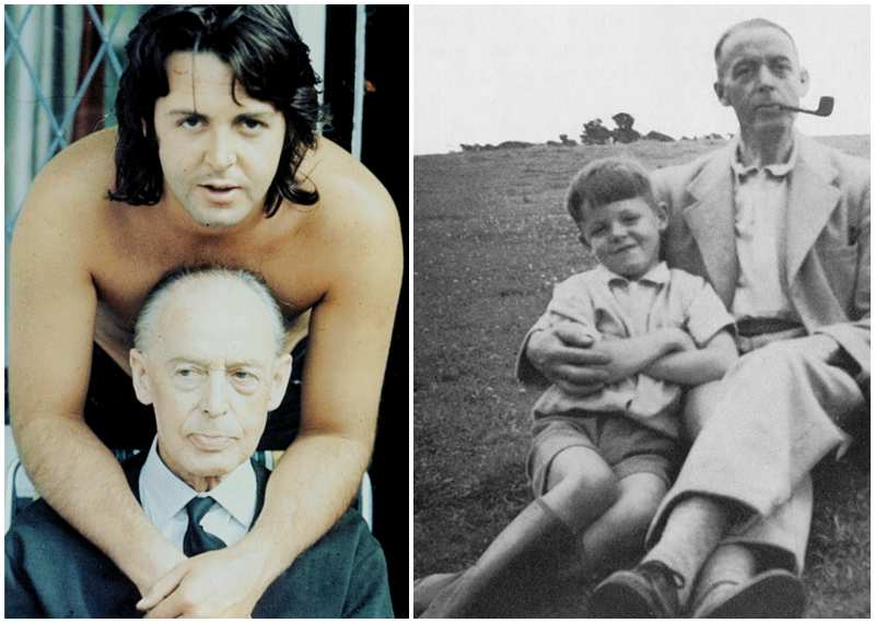 "Paul McCartney's family - father James ""Jim"" McCartney"