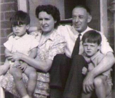 Paul McCartney's family - parents