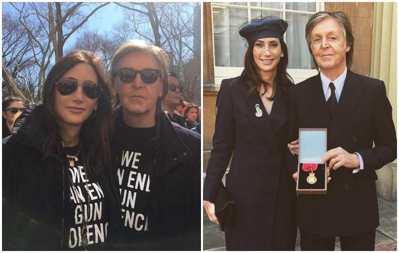 Paul McCartney's family - wife Nancy Shevell