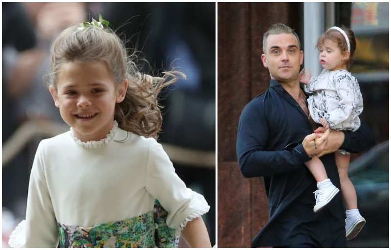 Robbie Williams' children - daughter Theodora Rose Williams
