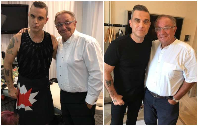 Robbie Williams' family - father Peter Williams