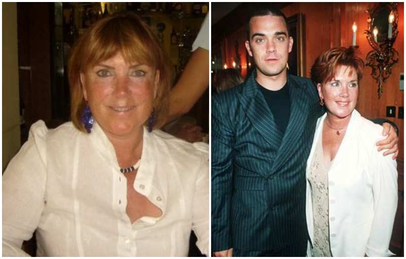 Robbie Williams' family - mother Theresa Jeanette Williams