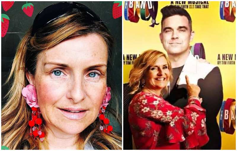 Robbie Williams' siblings - sister Sally Symonds(nee Williams)