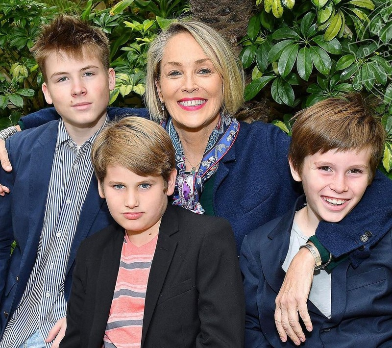 Sharon Stone's children