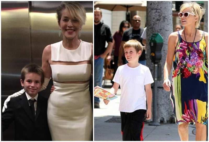 Sharon Stone's children - son Quinn Kelly Stone