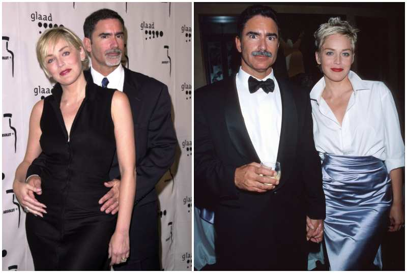 Sharon Stone's family - ex-husband Phil Bronstein