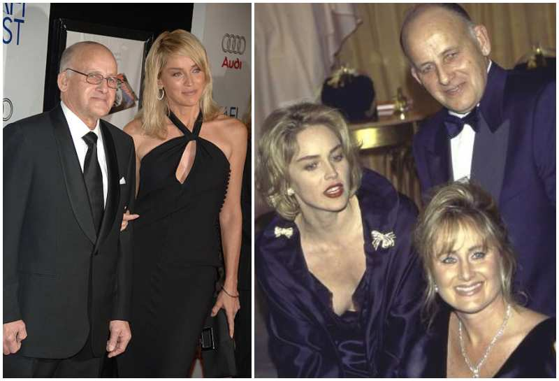 Sharon Stone's family - father Joseph William Stone II