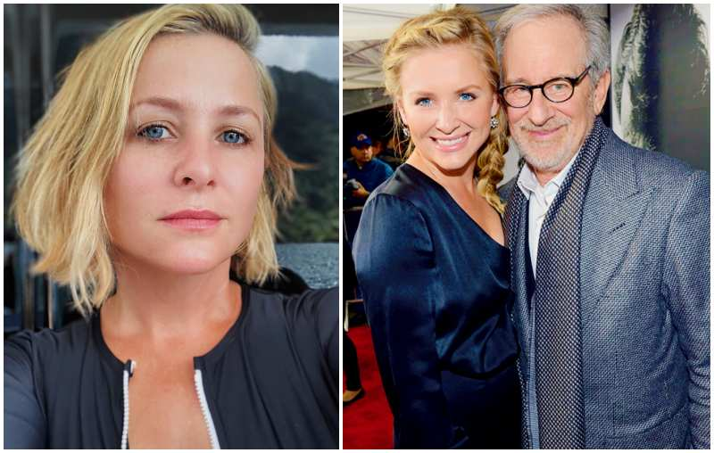 Steven Spielberg's children - step-daughter Jessica Capshaw