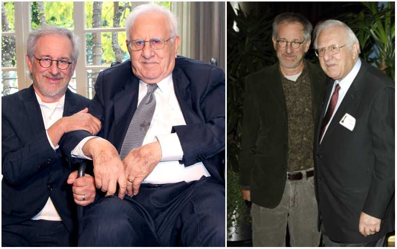 Steven Spielberg's family - father Arnold Spielberg
