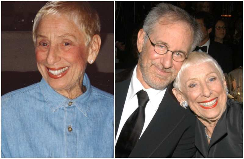 Steven Spielberg's family - mother Leah Adler