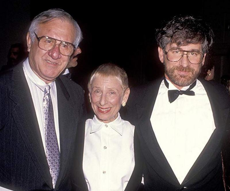 Steven Spielberg's family - mother and father