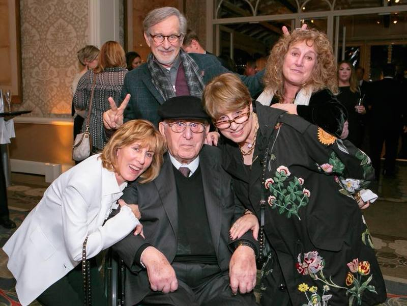 Steven Spielberg's family - 3 sisters and father