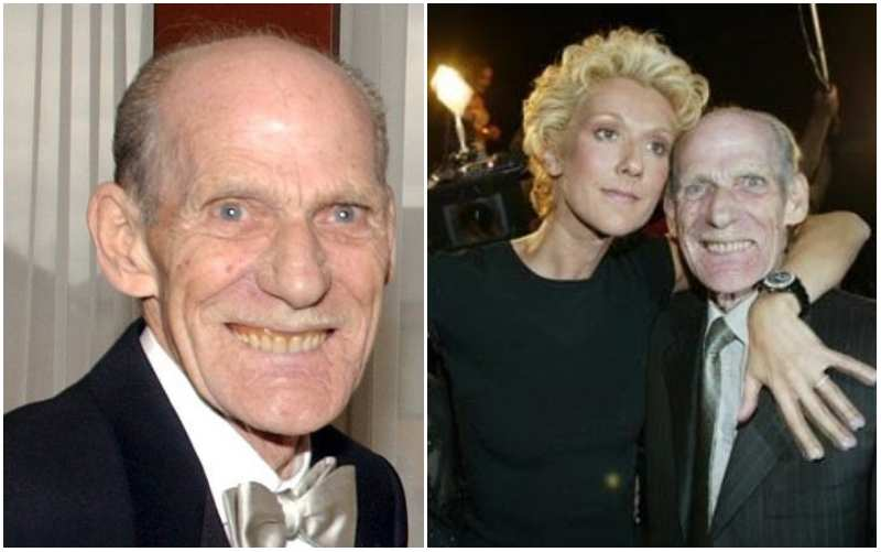 Celine Dion's family - father Adhémar-Charles Dion