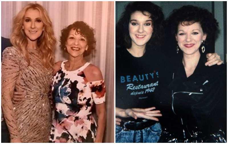 Celine Dion's siblings - sister Ghislaine Dion